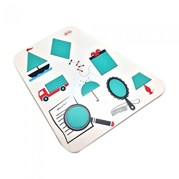 Skola Toys Geometrical Shapes Puzzle Tray