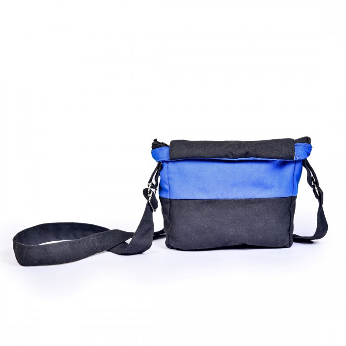 Ilai Upcycled Foldable Unisex Cross Body Sling Bag