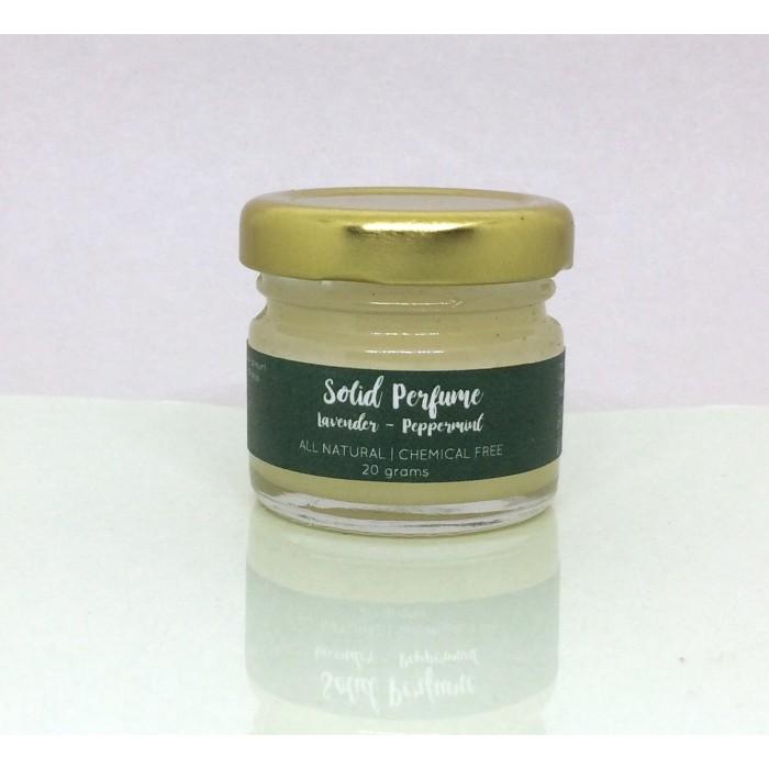 Vishisht Lifestyle Natutal Lavender Peppermint Solid Perfume
