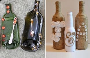 Upcycling Glass Bottles